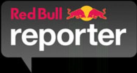 Red Bull Reporter logo