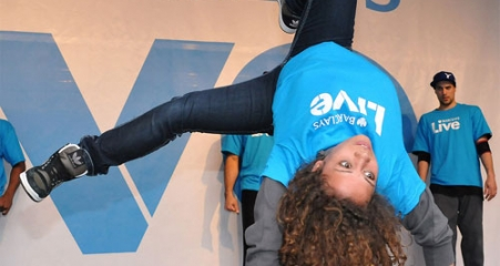 Barclays Live B-Girl Roxy