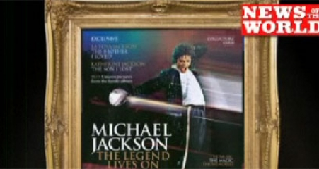 News of the World Michael Jackson magazine