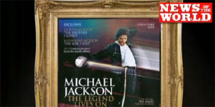 News of the World Michael Jackson magazine