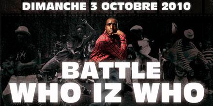 Who Iz Who Battle 2010