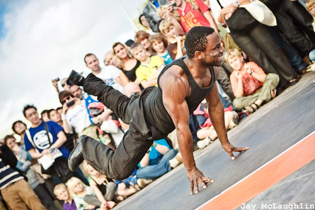 Carolina Esquire | Press Release: B-Boy Junior - Float (b-boy move)