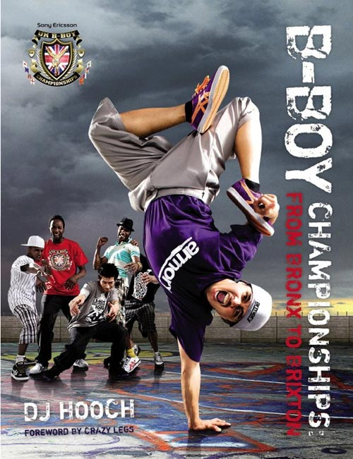 Bboy Championships book From Bronx to Brixton cover and