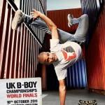 UK BBoy Championships 2011 poster - B-Boy Brahim