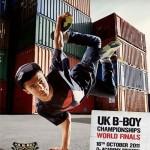 UK BBoy Championships 2011 poster - B-Boy Sunni