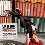 UK BBoy Championships 2011 poster - B-Girl Roxy