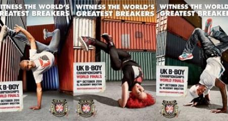 UK BBoy Championships 2011 posters