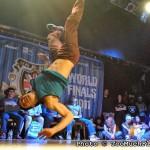 UK BBoy Championships 2011 World Finals - B-Boy Salo in the air