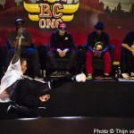 Red Bull BC One 2011 BBoy Morris dancing in front of judges