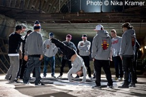 Red Bull BC One 2011 Russia bunker cypher (Nika Kramer)