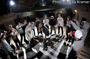 Red Bull BC One 2011 Russia bunker cypher Nika Kramer