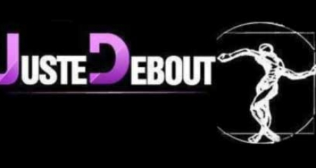 juste debout 2012 logo black