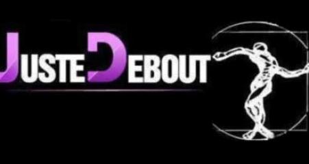 juste debout 2012 logo black