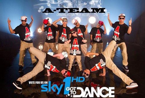 A Team Got To Dance Poster