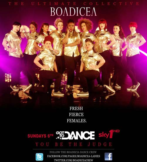 Boadicea Got to Dance poster