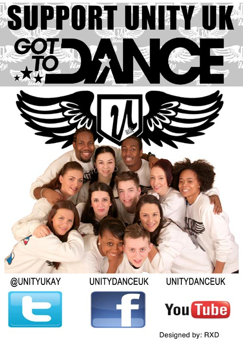 Unity UK Got to Dance poster