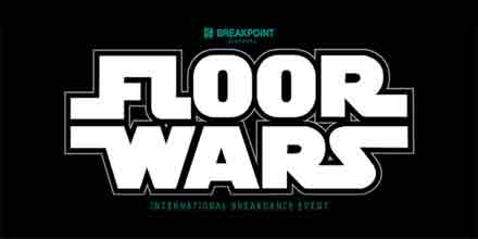 Floor Wars UK Qualifier (logo, black)