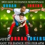 Urban Jokers Got To Dance Poster