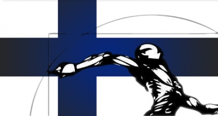 Juste Debout 2012 Finland flag