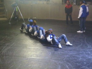 Street Dance 2 - The crew takes a rest