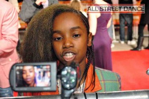 Akai (Got To Dance) at the Street Dance 2 Premiere Red Carpet London