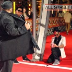Animaineax and Signature at the Street Dance 2 Premiere Red Carpet London