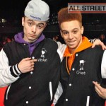 Chris and Wes at the Street Dance 2 Premiere Red Carpet London