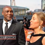 Max Giwa and Dania Pasquini at the Street Dance 2 Premiere Red Carpet London