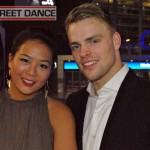 Dey Dey (Delphine Nguyen) and Niek Traa (Just Do It) at the Street Dance 2 Premiere Red Carpet London
