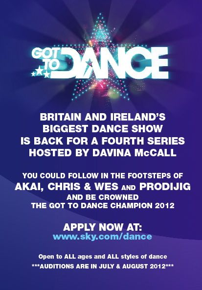All Street Dance Got To 2013 Audition Dates