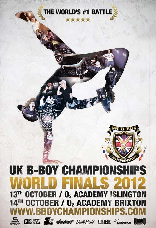 UK BBoy Championships 2012 Poster