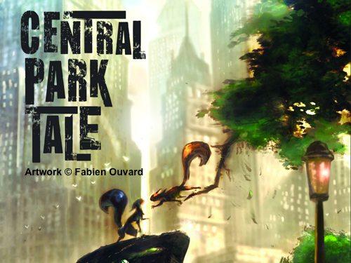 Central Park Tale Logo Concept Art