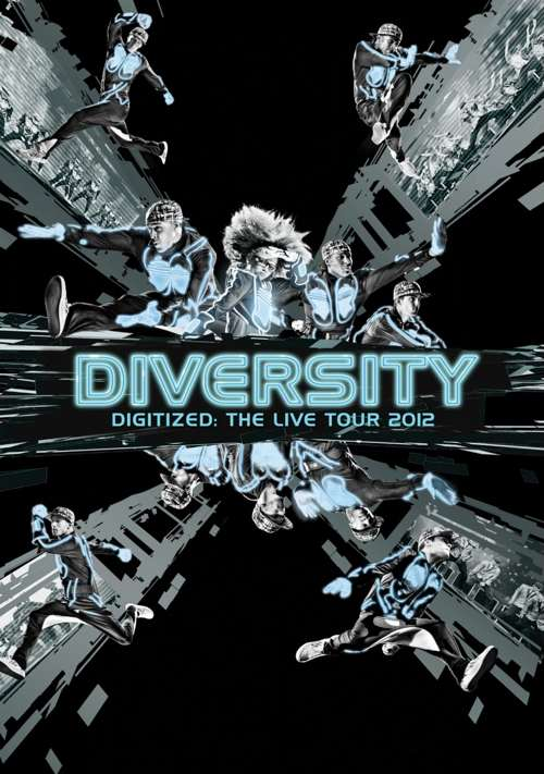 diversity digitized dvd cover
