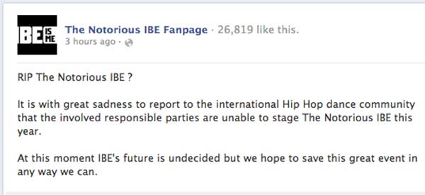 notorious-ibe-cancelled
