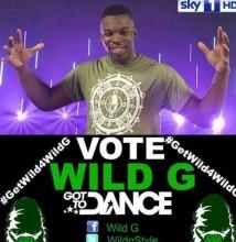 Vote Wild G Got to Dance 2012 poster
