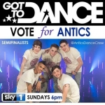 Vote Antics Got to Dance 2012 poster