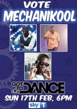 Vote Mechanikool Got to Dance 2012 poster