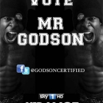 Vote Mr Godson Got to Dance 2012 poster