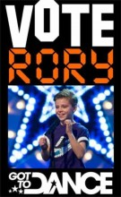 Vote Rory O'Shea Got to Dance 2012 poster