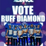 Vote Ruff Diamond Got to Dance 2012 poster