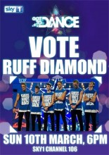 Vote Ruff Diamond Got to Dance 2012 poster